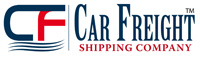 Car Freight Shipping Logo